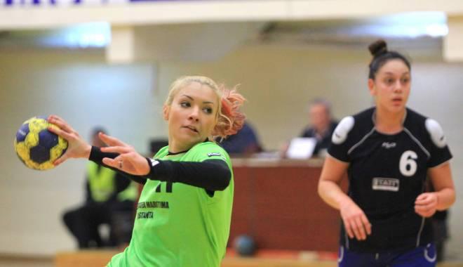 Foto: Galerie foto. Handbal feminin: CSU Neptun a obținut a doua victorie din campionat