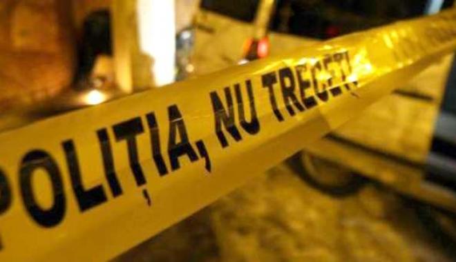 Foto: Barbat din Limanu, GASIT MORT intr-o balta de sange