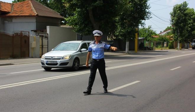 Foto: ATENŢIE ŞOFERI! Unde acţionează AZI poliţiştii de la RUTIERĂ