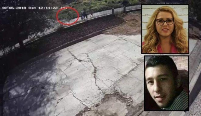 Foto: Principalul suspect în cazul uciderii jurnalistei din Bulgaria, filmat în timp ce fugea de la locul crimei