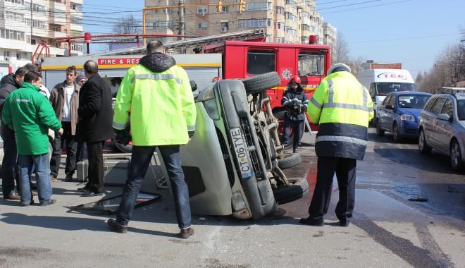 Foto: Cine este vinovat de producerea accidentului rutier de la Podul de la Butelii?
