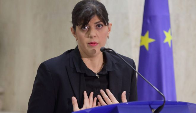 """Foto: Inspecția Judiciară: """"Laura Codruța Kovesi a încălcat dispozițiile CCR prin refuzul de a se prezenta în fața Parlamentului"""""""