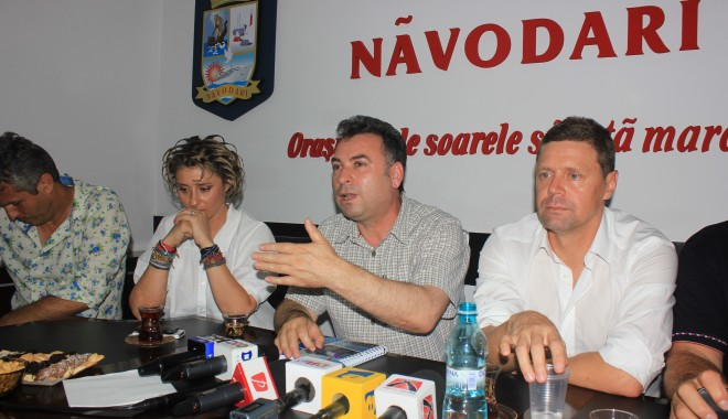 """Foto: Fotbal / Nicolae Matei: """"Săgeata Năvodari este echipa momentului în Constanța"""""""