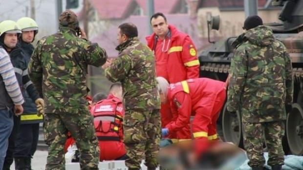 Foto: Verificări la CFR după ce un militar a murit în Gara din Alba Iulia în timpul pregătirilor pentru parada de 1 Decembrie