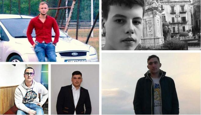 Foto: Cine sunt cei cinci tineri care au murit în tragicul accidentul de duminica noapte