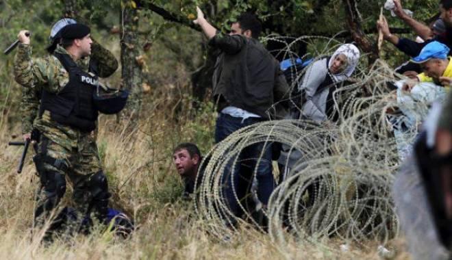 Foto: Criza imigranţilor/ Prima ţară care cere închiderea frontierei Schengen