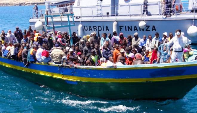 Foto: Criza imigranţilor. UE plănuieşte o misiune în Marea Mediterană