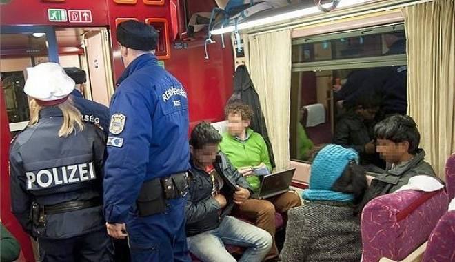 Foto: Un tren din Ungaria cu 400 de imigranți a sosit în Bavaria