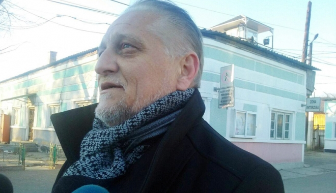 Foto: Corneliu Iacobov, eliberat  din Penitenciarul Poarta Albă