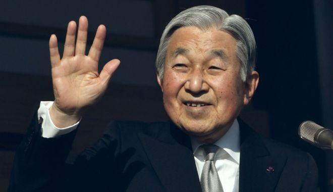 Foto: Împăratul Akihito, forţat să-şi anuleze  activităţile pentru a doua zi consecutiv