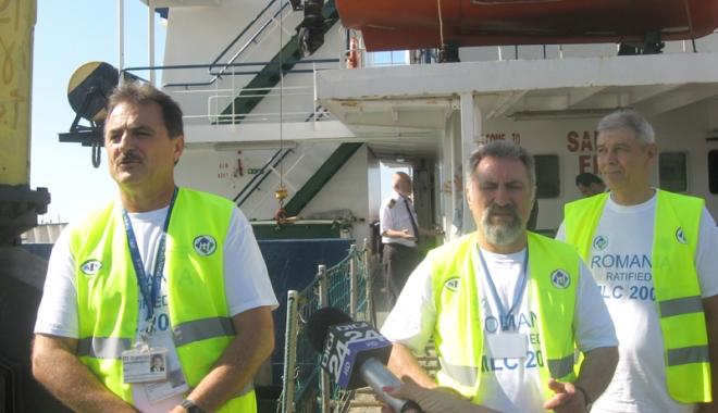 Foto: Importanţa navigatorilor trebuie recunoscută de guvernanţi prin fapte!