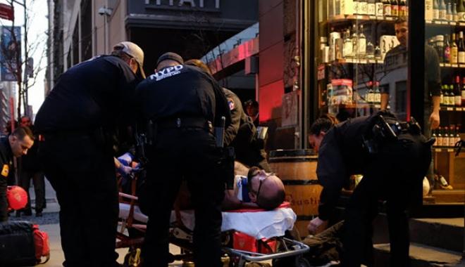 Turist român, împușcat în spate: