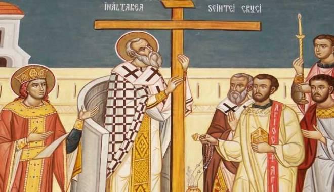 Foto: De ce este specială sărbătoarea Înălţării Sfintei Cruci