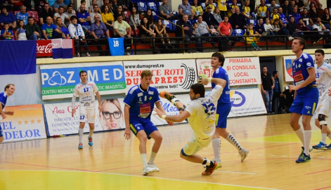 Foto: În aşteptarea noului antrenor, HC Dobrogea Sud a remizat la Odorheiul Secuiesc