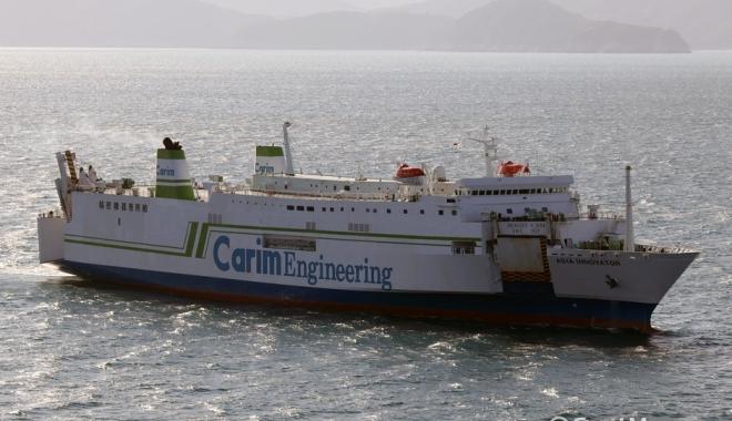 Foto: Incediu pe un ferry-boat cu 113 oameni