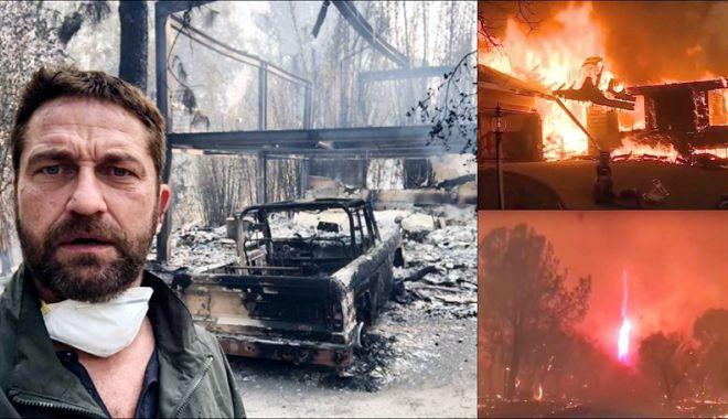Foto: Incendii în SUA. Numărul morţilor a crescut la 31