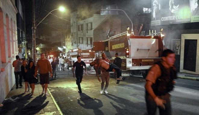 Foto: 245 de morţi în urma unui incendiu izbucnit într-un club