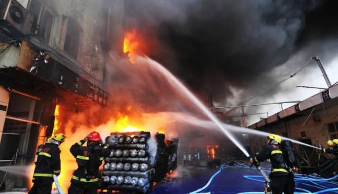 Foto: Incendiu puternic  în Moscova