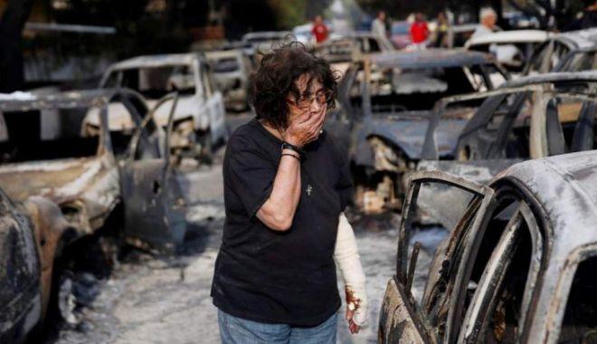 Foto: Incendiu Grecia. Bilanţul deceselor creşte: 87 de persoane au murit