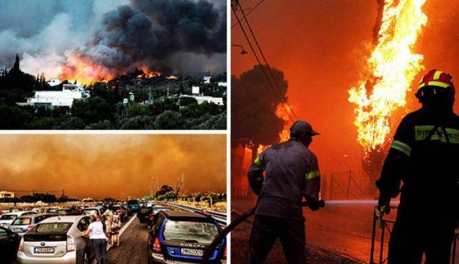 Foto: Ministerul de Externe: Nu există români victime ale incendiilor din Grecia