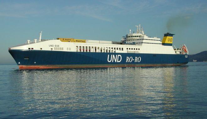 Incendiu la bordul unei nave ro-ro, în Marea Egee - incendiulaborduluneinaveroro-1613309118.jpg