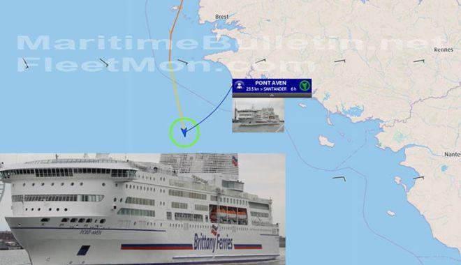 Foto: Incendiu la bordul unui portcontainer, în Italia