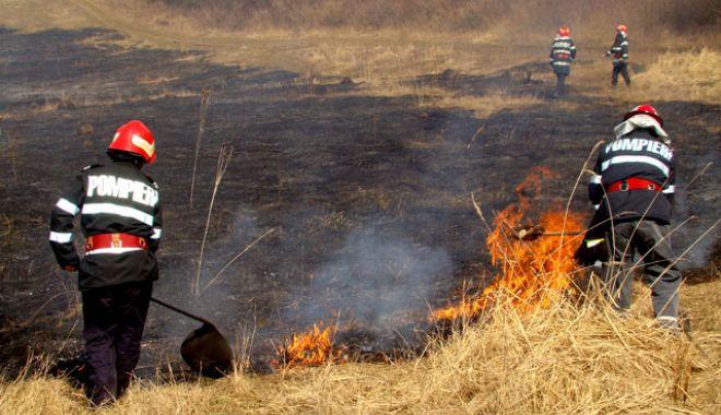 Foto: ATENȚIE CETĂȚENI! Incendiile de vegetație reprezintă un pericol pentru viață