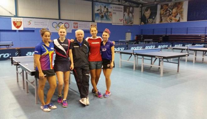 Foto: Start al Europenelor de tenis de masă pe echipe. Tricolorii, prezenţi cu cele mai bune garnituri