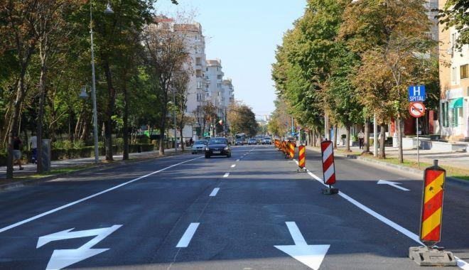 Foto: Începând de mâine, sens unic pe un bulevard important din Constanța