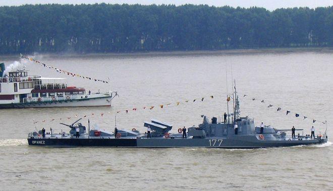 Începe Exercițiul Danube Protector. Șase nave militare fluviale patrulează pe Dunăre