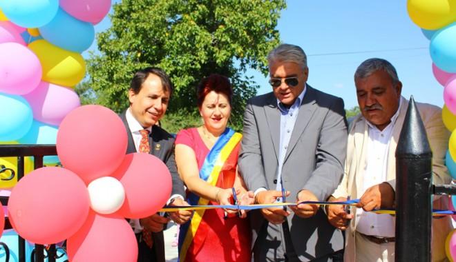 Foto: Început de an cu surprize în comuna Saraiu. Primarul Dorinela Irimia a inaugurat noua grădiniţă