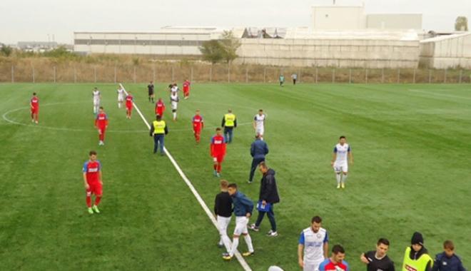 Foto: Incidente la meciul SSC Farul din Berceni