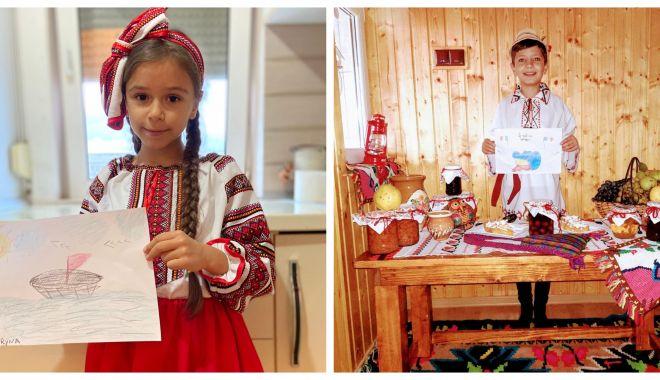 Incursiuni în trecutul nostru. Şcolarii sărbătoresc Ziua Naţională a României - incurs-1606656703.jpg