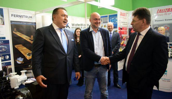 Foto: Industria navală românească și-a dat întâlnire la Expoziția Europort, din Mamaia
