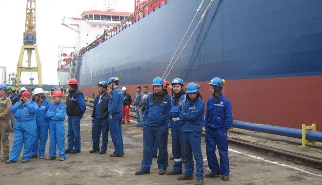 Foto: Industria navală românească este departe de performanțele din 2008