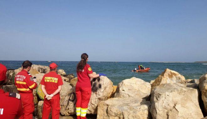 Foto: La un pas de înec, în Portul Constanța