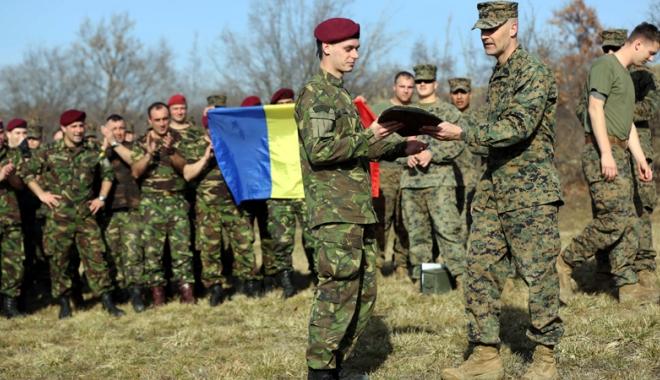 Foto: Infanteriştii marini, prezenţi la exerciţiul multinaţional Platinum Lion