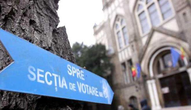 Foto: ALEGERI PREZIDENȚIALE. Prezența la vot la ora 13,00. Câți constănțeni au votat