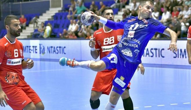 Foto: Înfrângere la limită pentru HC Dobrogea Sud, în derby-ul cu Dinamo