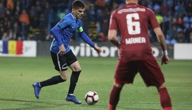 Foto: Înfrângere la limită pentru FC Viitorul în derby-ul cu CFR Cluj