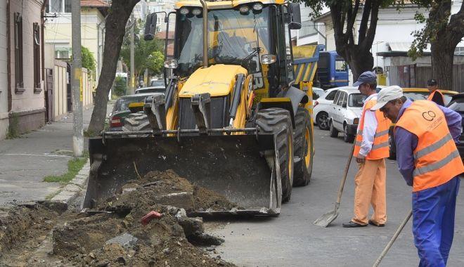 Foto: Infrastructura stradală, reabilitată în mai multe zone ale Constanței