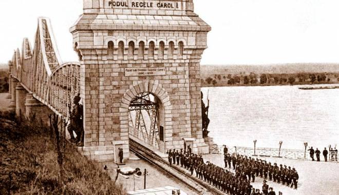 Foto: 120 de ani de la inaugurarea podului de la Cernavodă. Cât i-a luat lui Saligny să îl facă