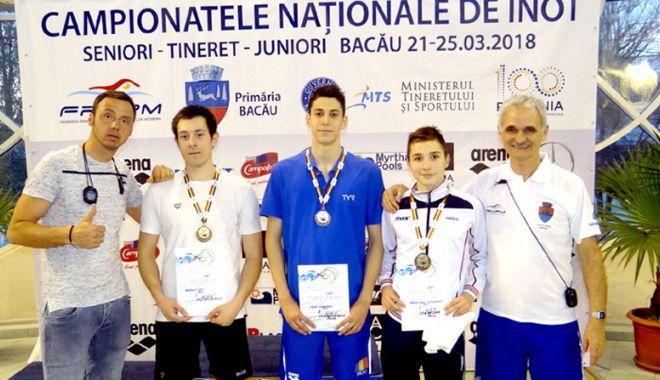 """Foto: Au impresionat la Naţionalele de la Bacău! """"Delfinii"""" constănţeni, din nou pe podium"""