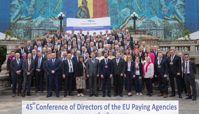 Foto: Inovarea tehnologică, în atenția directorilor agențiilor de plăți din UE