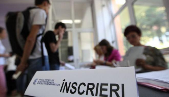 Foto: Cum se pot înscrie la universitate picaţii de la Bacalaureat