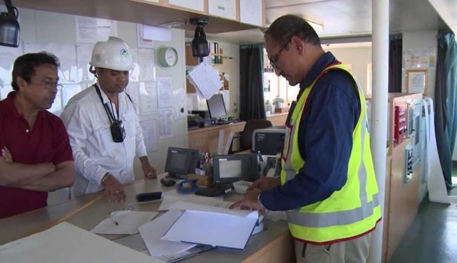 Foto: Inspecţii mai blânde privind certificarea navigatorilor