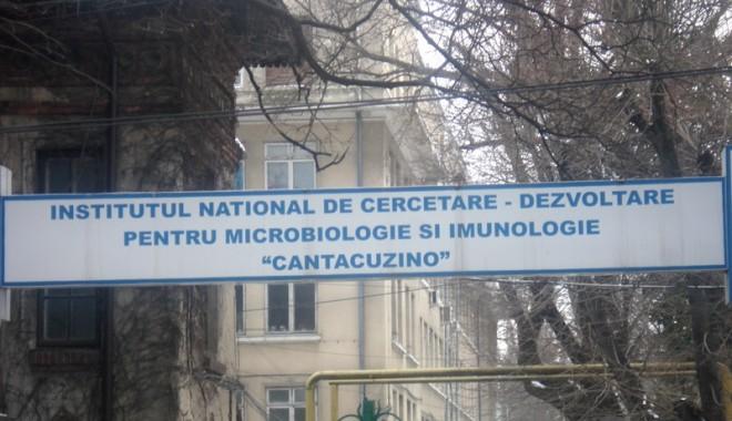 Foto: Institutul Cantacuzino şi-ar putea relua activitatea