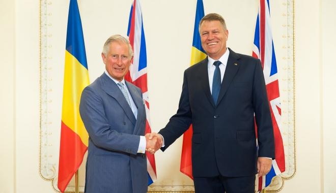 Foto: Prinţul Charles, în vizită oficială în România
