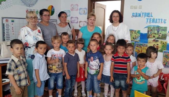 Foto: Întâlnirea preşcolarilor din Constanţa şi Grădina