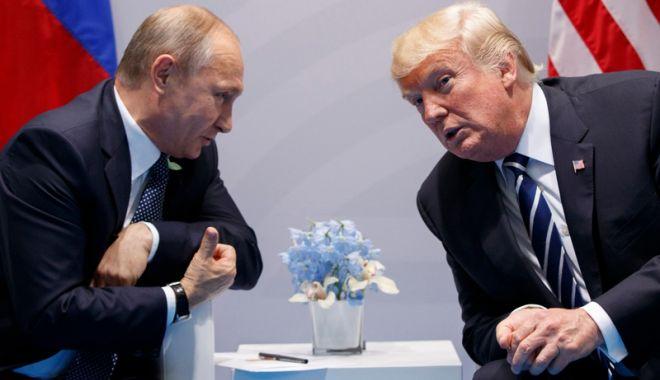 Foto: Donald Trump vrea să se întâlnească din nou cu Putin